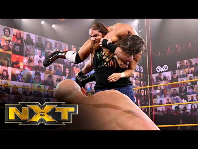 Grizzled Young Veterans take out MSK before facing Dain & Maverick: WWE NXT, Feb. 24, 2021