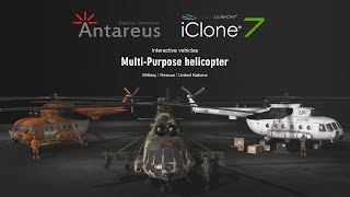 [2.00 MB] iClone 7 - Content Pack: Multipurpose Helicopter