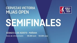 Semifinales - Maana - Cervezas Victoria Mijas Open 2018 - World Padel Tour