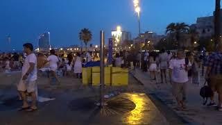 00432.Барселона в ДЕНЬ,,СВЯТОГО ХУАНА,,Пляж Барселонета.