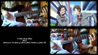 shimoneta to iu gainen ga sonzai shinai taikutsu na sekai op b chiku sentai sox guitar cover