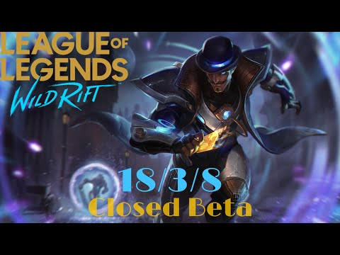 PULSE FIRE TWISTED FATE RANK GAME | league Of Legends Wild Rift Closed Beta : Triple Kill Fiesta