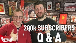 200k Subscribers Q&A LIVE!