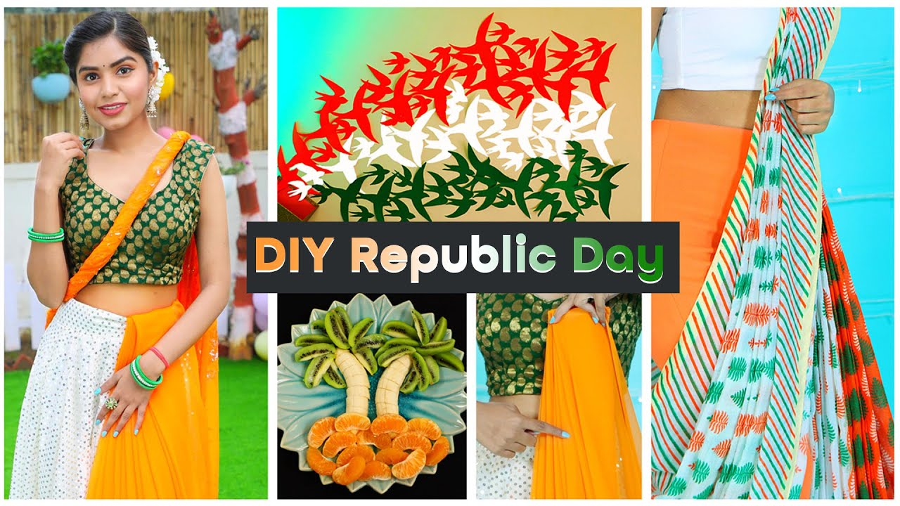 6 Smart Fashion & Craft Ideas - Republic Day Special | DIYQueen