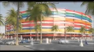 Чемпионат мира по футболу 2022 пройдёт в Катаре. Обзор стадионов.(Чемпионат мира по футболу 2022 будет проходить в Катаре, городе, какого ещё нет. Обзор моделей стадионов, котр..., 2015-11-30T15:52:29.000Z)
