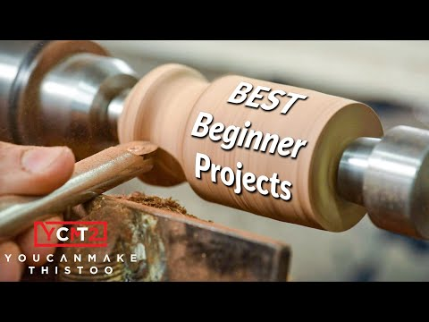 Easy Wood Turning Lathe Projects