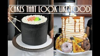 Cakes That Look Like Food 10 Amazing Cakes CHELSWEETS