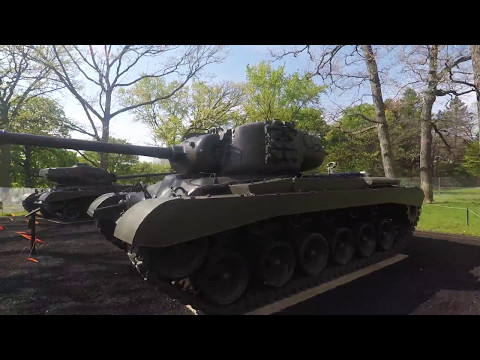 Tanks at Cantigny First Division Museum