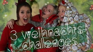 Dumme Weihnachts-Challenges! (mit Mirellativegal & MalWanne)