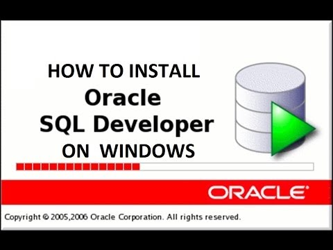 Install and configure Sql Developer on Windows | Oracle Tutorial