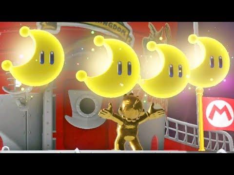 Super Mario Odyssey #27: O Lendário Mario de Ouro - Nintendo Switch