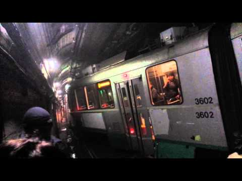 D Green Line Train got Derailed - March 10, 2014