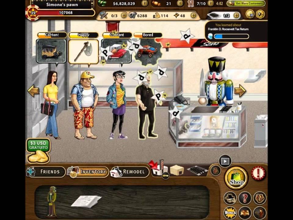 Pawn Stars Game Online