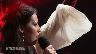 Aija Vītoliņa - Guarda che luna (Live at X Faktors Latvia 2017)