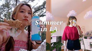 LA yaz vlog 🌥 sınav günü, oda yenileme, piknik