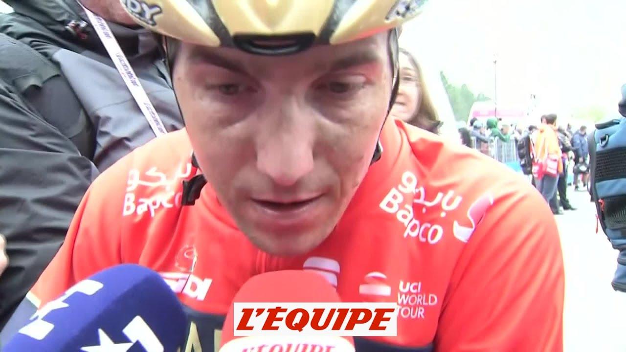Pozzovivo «C'était difficile avec Yates dans la roue» - Cyclisme - Giro