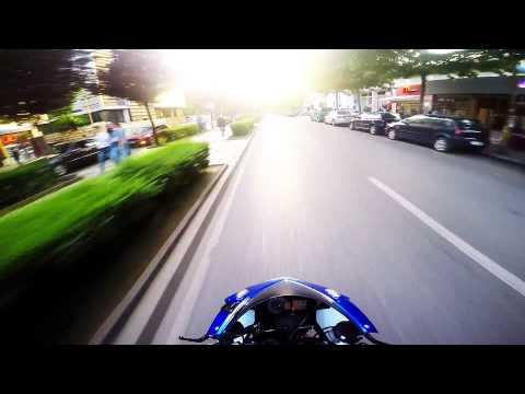 GoPro4-Suzuki K8 1000cc-Tirana,Albania-Riding