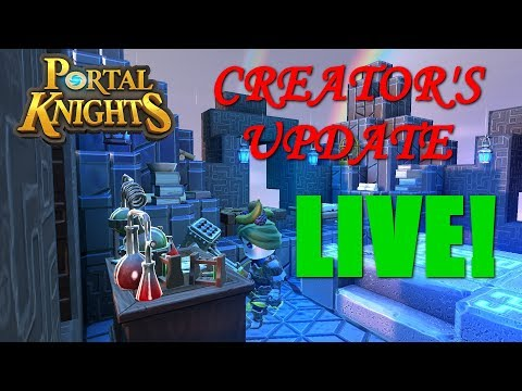 Portal Knights Creators Update is LIVE! NEW FEATURES! Version 1.4.1