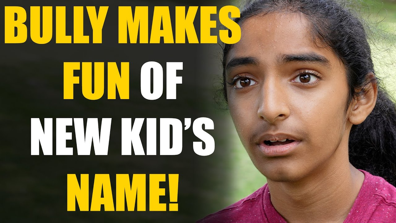 If YOU'VE Been Bullied Because of Your NAME, WATCH THIS   SAMEER BHAVNANI