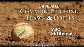 baseball common pitching flaws drills