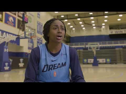 Atlanta Dream Camp Diaries - Tiffany Hayes