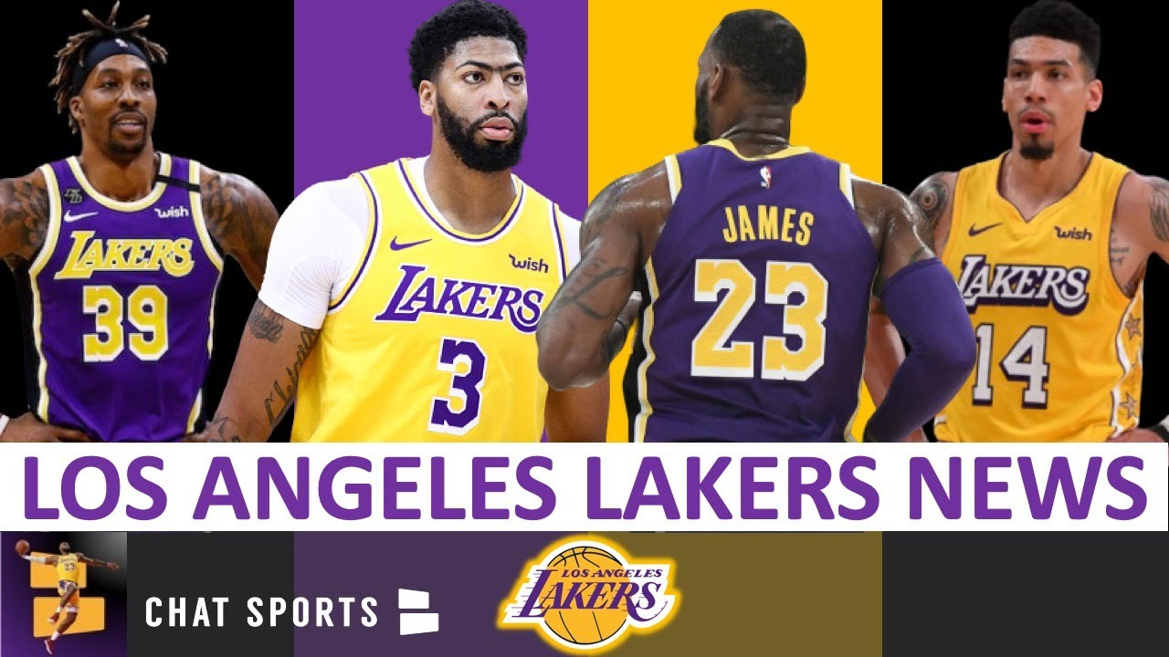 Los Angeles Lakers News Lebron James Anthony Davis Dwight Howard Danny Green 2020 Nba Restart Youtube