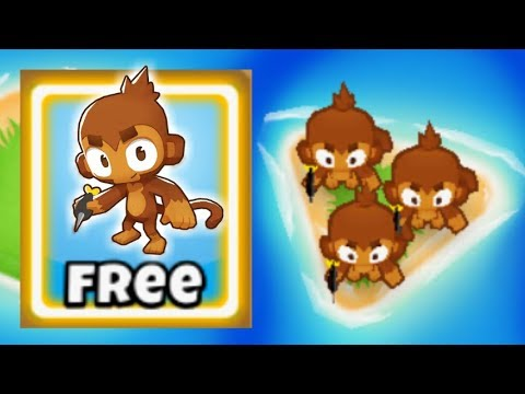 Bloons TD 6 Monkey Knowledge Glitch - How To Get More Than 1 FREE Dart  Monkey!