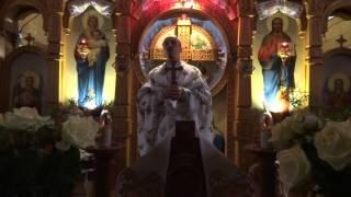 проповідь прот. Миколи Бобик в день свята Покрови Пресвятої Богородиці