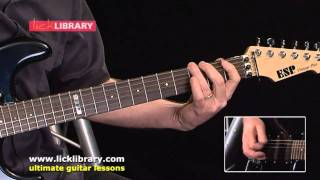 Jam With Black Sabbath Guitar Lessons - DVD With Danny Gill Licklibrary
