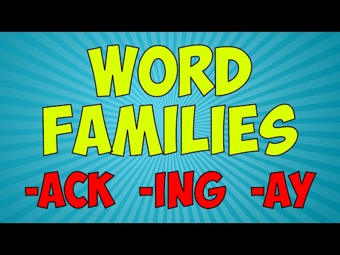 Workout With The Word Families 4 | Word Family Song | Jack Hartmann
