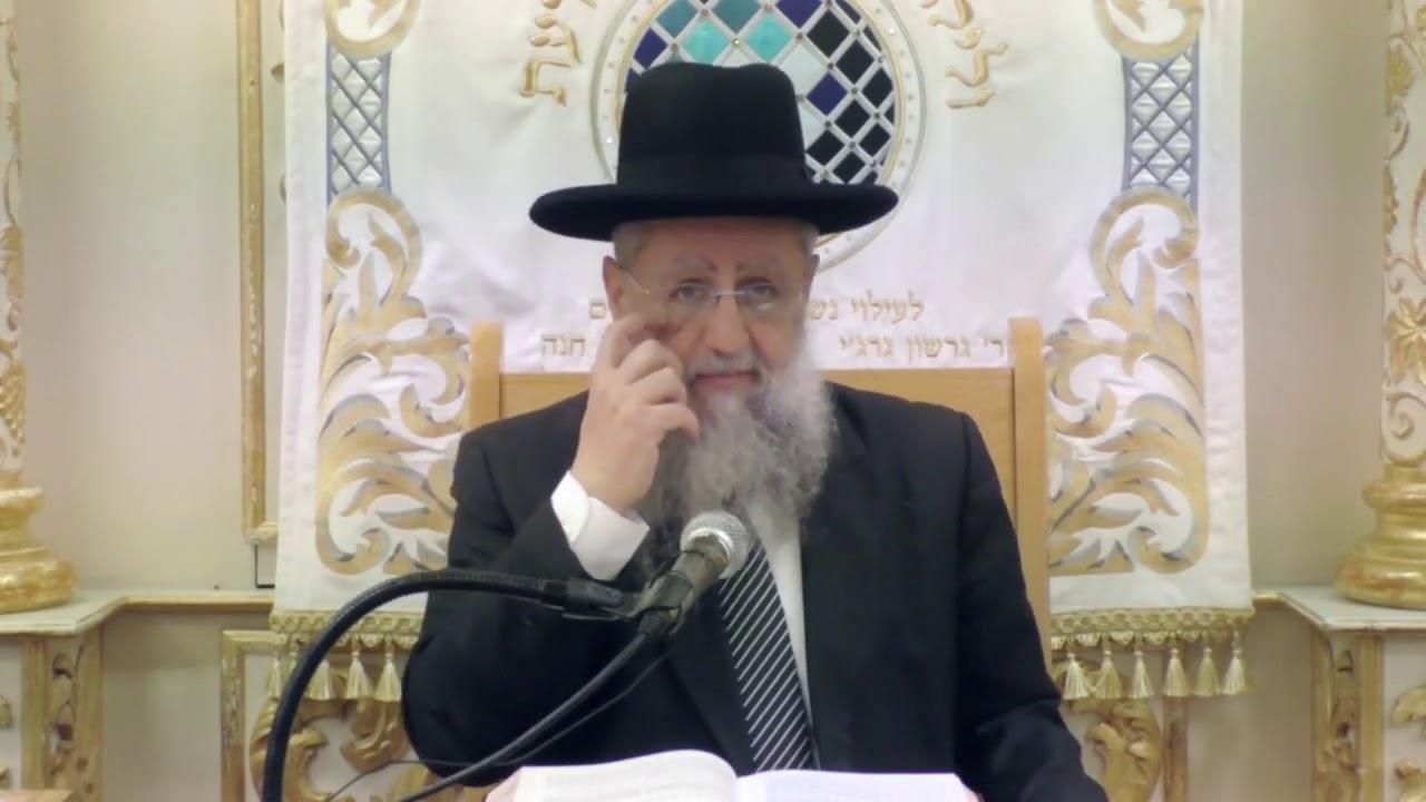 הרב דוד יוסף   מענייני לחם משנה ובציעת הפת חלק ג'   השיעור השבועי מכ' סיון תשעט