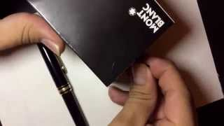 Changing ink color in a #Montblanc Fountain Pen