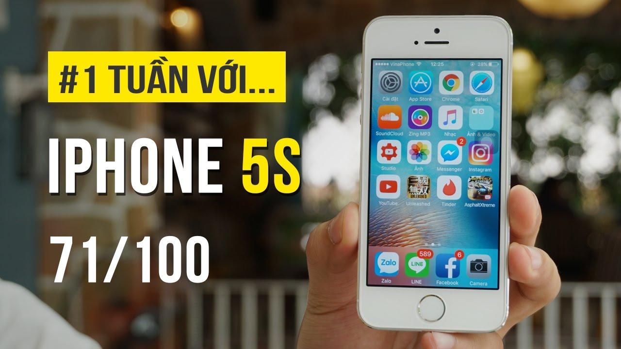 Đánh giá iPhone 5S sau một tuần sử dụng – gọn nhẹ, dễ cầm nhưng kén người dùng