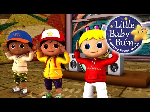 Head Shoulders Knees and Toes | Nursery Rhymes | By LittleBabyBum!