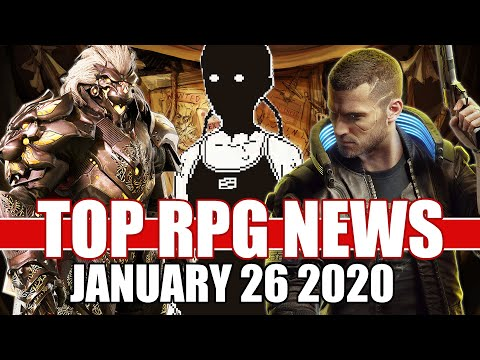 Top RPG News Of The Week - Jan 26, 2020 (World Of Horror, Godfall, Cyberpunk 2077)