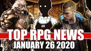 Top RPG News of the Week - Jan 26, 2020 (World of Horror, Godfall, Cyberpunk 2077)