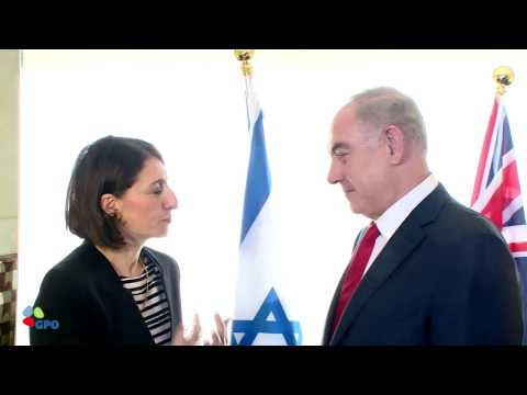 PM Netanyahu Meets New South Wales Premier Berejiklian