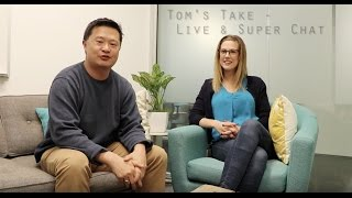 Tom's Take - Super Chat and live streaming on YouTube thumbnail