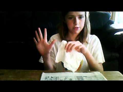 Magic Trick: Torn And Restored Paper