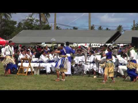 Taufa'ahau & Pilolevu College Brass Band - Coronation Celebration