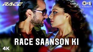 Race Saanson Ki Full Video - Race | Sunidhi Chauhan, Neeraj Shridhar | Saif Ali Khan, Bipasha Basu