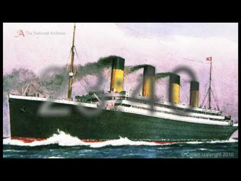 Original documents and photos from the RMS Titanic