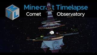 Rosalina's Comet Observatory - Minecraft Timelapse