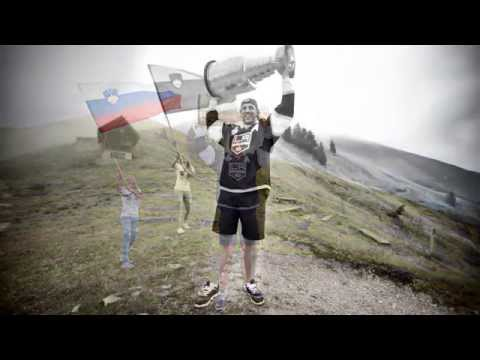 AK11 took the Stanley Cup to Golica (famous Slovenian mountain)