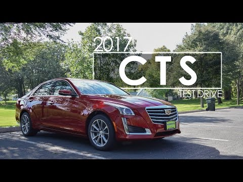 2017 Cadillac CTS Review Test Drive