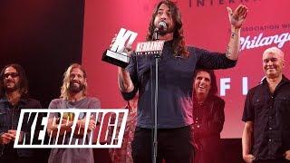 FOO FIGHTERS dedicate Kerrang! Award to CHESTER BENNINGTON