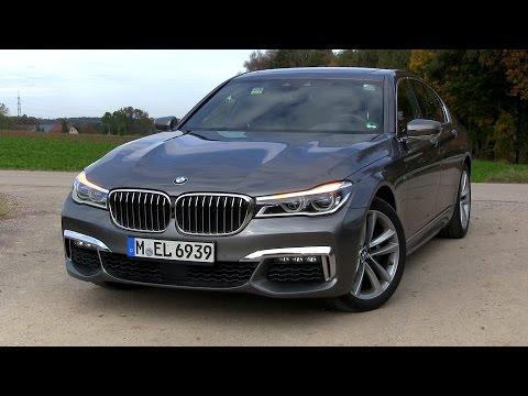 2016 BMW 740d G11 xDrive (320 HP) TEST DRIVE