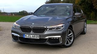2016 BMW 740d G11 xDrive (320 HP) TEST DRIVE