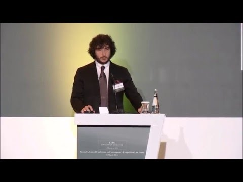 """Gönenç Gürkaynak Opening the """"Second Advanced Conference on Contemporary Competition Law Issues"""""""