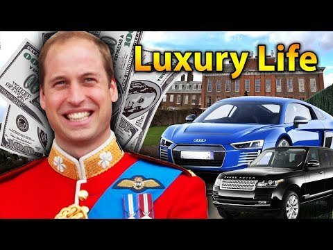 Prince William Luxury Lifestyle | Bio, Family, Net Worth, Earning, House, Cars
